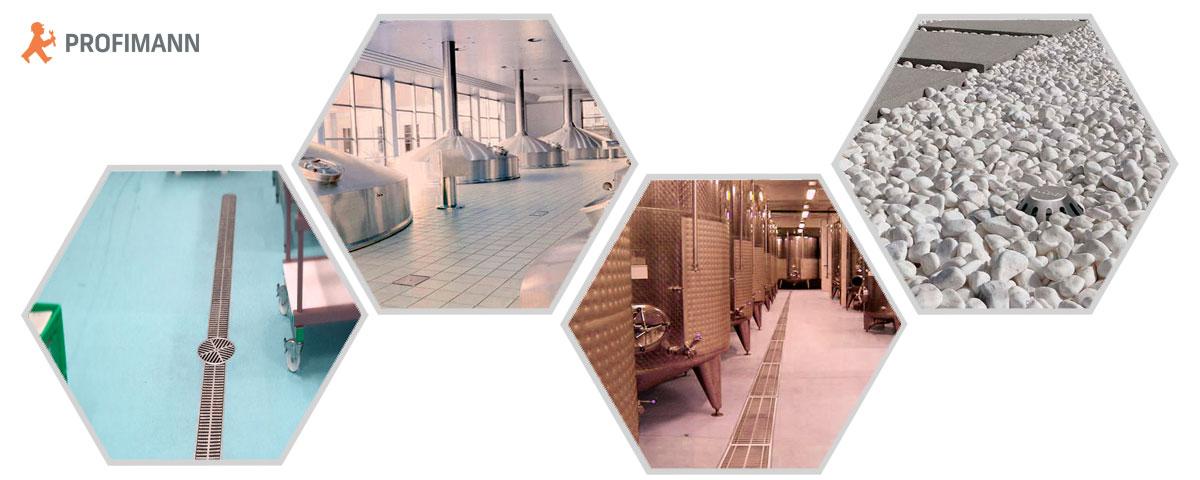 Системы водоотведения из нержавеющей стали для различных сфер применения