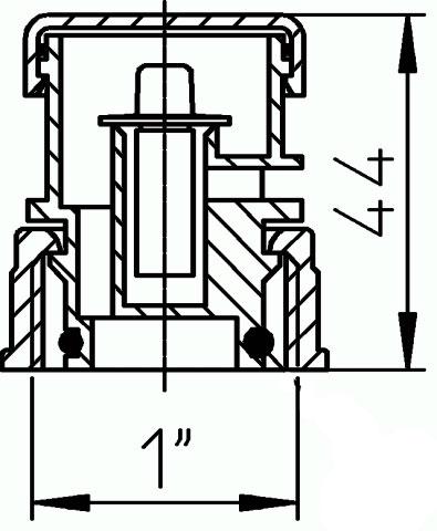"""Воздушный клапан HL902 1"""""""