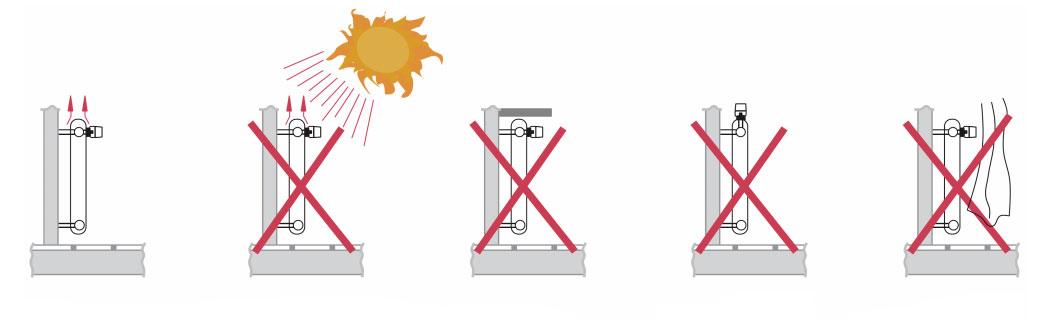 Правильная установка термоголовки