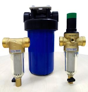 Фото фильтры механической очистки воды
