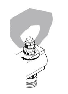 Регулировка вентильной вставки Danfoss