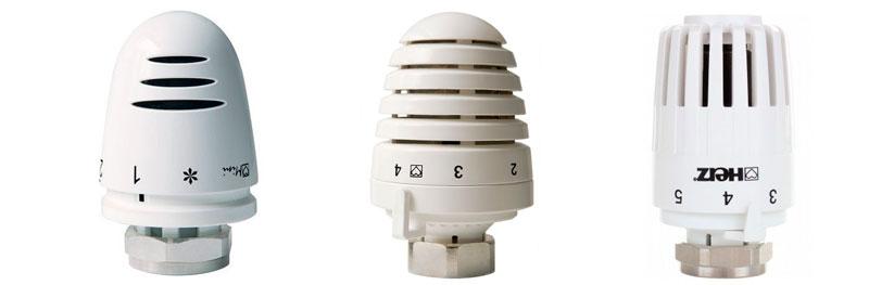 HERZ Armaturen термоголовки
