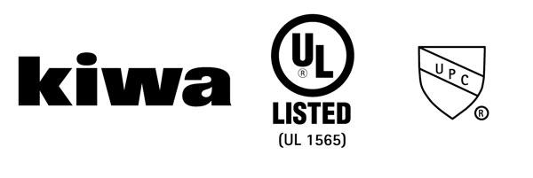 Сертифицировано: KIWA , UL, UPC