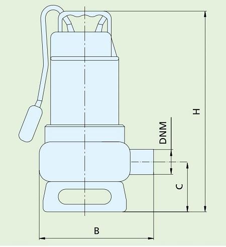 габариты Speroni SXG 1400