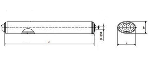Расширительный бак Zilmet OEM-Pro серии 564 для котлов