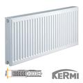 Стальной радиатор Kermi FKO Тип 22 400x2600 4173W (боковое подключение)