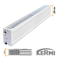 Стальной радиатор Kermi FKO Тип 33 200x1400 1893W (боковое подключение)