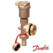 Торцевая секция Danfoss FHF-EA с автоматическим отводом воздуха
