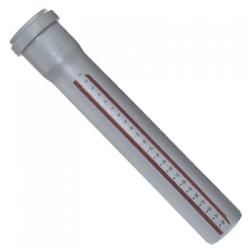Труба для внутренней канализации 110 мм (1 м) Ostendorf HT