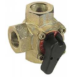 Фото Клапан поворотный трехходовой Honeywell V5433G DN 50 | Kvs 40,0