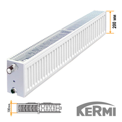 Стальной радиатор Kermi FKO Тип 22 200x1800 1652W (боковое подключение)