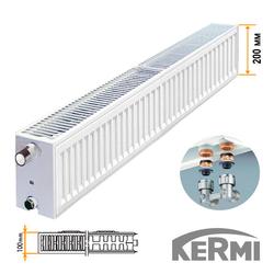 Стальной радиатор Kermi FTV Тип 22 200x1400 1239W (нижнее подключение)