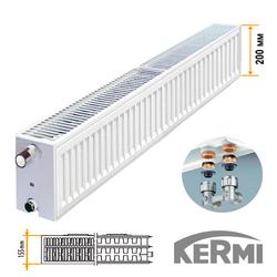 Стальной радиатор Kermi FTV Тип 33 200x1300 1776W (нижнее подключение)