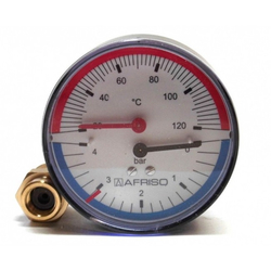 Термоманометр AFRISO тип ТМ 80 AX