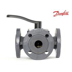 Клапан 3-ходовой поворотный фланцевый Danfoss HFE3 40