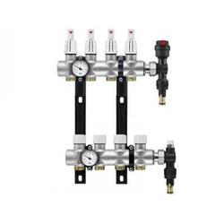 Коллектор RBM Compact на теплый пол латунный на 5 выходов