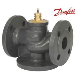Седельный регулирующий двухходовой клапан Danfoss серии VF3