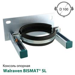 Консоль опорная с хомутом Walraven BISMAT® SL для труб DN 100 (4323100)