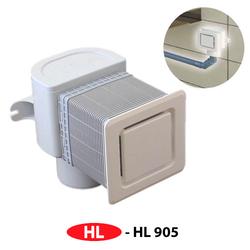 Воздушный клапан HL905 DN 50/75 (для скрытого монтажа)
