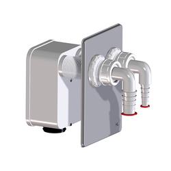 Сифонный блок HL 4000.2 для подключения 2 стиральных машин