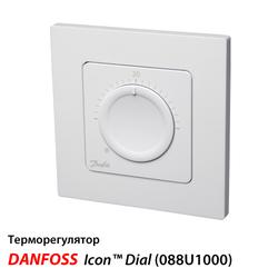 Терморегулятор Danfoss Icon™ Dial встраиваемый (088U1000)