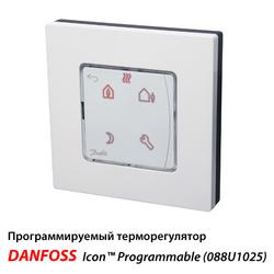Программируемый терморегулятор Danfoss Icon™ Programmable настенный (088U1025)