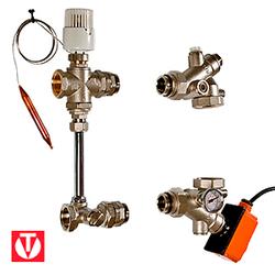 Насосно-смесительный блок VALTEC DUALMIX   без насоса
