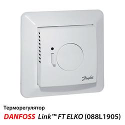 Danfoss Link™ FT ELKO Терморегулятор теплого пола (088L1905)