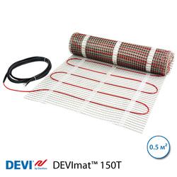 Нагревательный мат DEVImat™ 150T, 0.5 м2, 75 Вт, двужильный (140F0444)