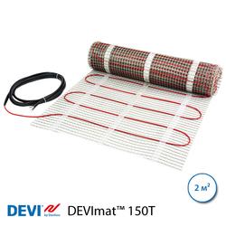 Нагревательный мат DEVImat™ 150T, 2 м2, 300 Вт, двужильный (140F0447)