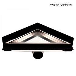 Трап Inox Style треугольник из нержавеющей стали