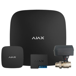 Стартовый набор защиты от протечек воды Ajax Hub (черный) + Honeywell HAV 20