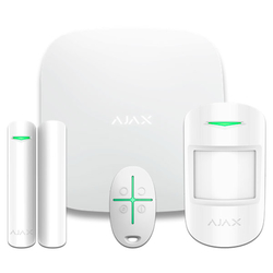 Комплект сигнализации Ajax StarterKit Plus White (Белый)