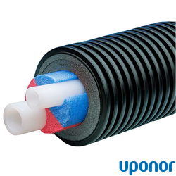 Uponor Ecoflex Aqua Twin Теплоизолированная труба 25х3.5-25х3.5/175