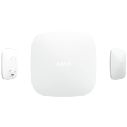 Умная централь Ajax Hub Plus White (белый)