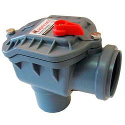 Угловой обратный клапан для канализации 50 мм Capricorn