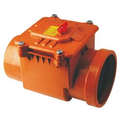 Обратный клапан канализации 160 мм Capricorn | горизонтальный