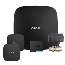 Цена - Система защиты от протечек Ajax Hub (черный) + кран с электроприводом Honeywell 220 One