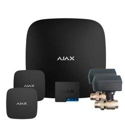 Система антипотоп Ajax Hub (черный) + кран с электроприводом Honeywell 220 Duo
