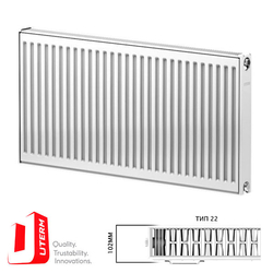 Радиатор стальной Uterm Compact Тип 22 500x600 (боковое подключение)