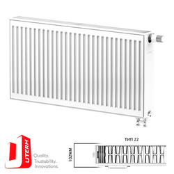 Радиатор стальной Uterm Ventil Compact Тип 22 300x600 (нижнее подключение)