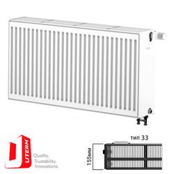 {[ru]:Радиатор стальной Uterm Ventil Compact Тип 33 500x500 (нижнее подключение)