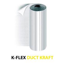 Утеплитель фольгированный ADK-Flex12x1500-15STDUCT ALUKRAFT (самоклеющийся)