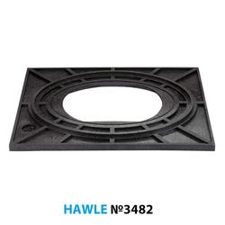 Опорная плита Hawle 3482 для гидрантов