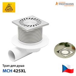 Душевой трап c сухим сифоном MCH 425XL | 122х122 | DN50- фото 1