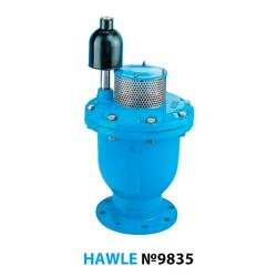 Воздушный вантуз фланцевый Hawle 9835 DN 150 PN6