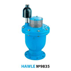 Воздушный вантуз фланцевый Hawle 9835 DN 150 PN16