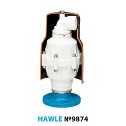 "Воздушный вантуз Hawle 9874 DN 50"" PN16"