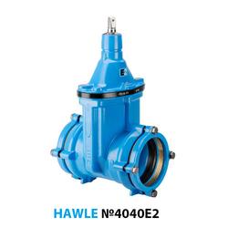 Задвижка раструбная Hawle 4040E2 ДУ 150/160 PN16
