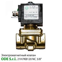 """Электромагнитный клапан ODE 21H7KB120 нормально закрытый 3/8"""""""